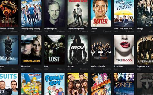 IPTV playlist series en Inglés